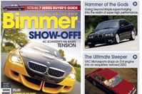 "Bimmer Magazine May 2006 Featured Article ""Hammer of the Gods"" unveils KO's E36 M3 Stage III Supercharger Boost Kit!"