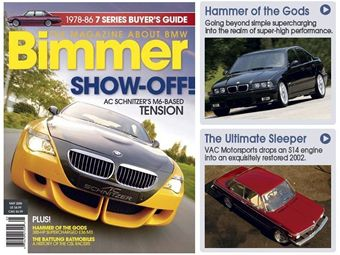 Bimmer Magazine Featured Article - Hammer of the Gods - Unveilds KO Performance Stage III M3 Supercharger kit at 400 rear wheel hp!